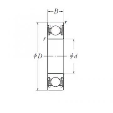 17 mm x 52 mm x 16 mm  KOYO DG175216B2RDD Rolamentos de esferas profundas