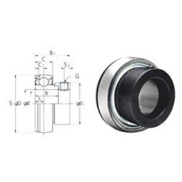 36,5125 mm x 80 mm x 30,2 mm  KOYO SA208-25F Rolamentos de esferas profundas