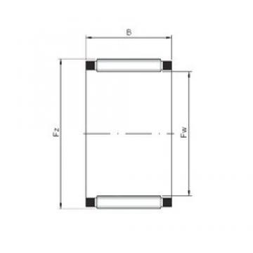 ISO K47x55x28 Rolamentos de agulha