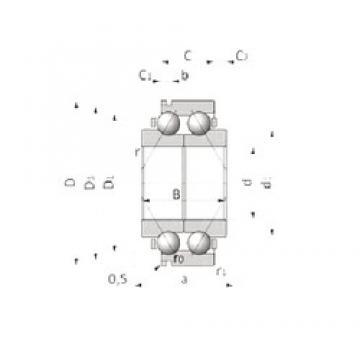 28 mm x 67 mm x 28,2 mm  SKF BA2B 633668 A Rolamentos de esferas de contacto angular
