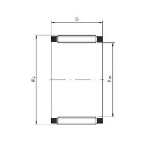 ISO K29x34x27 Rolamentos de agulha #5 image